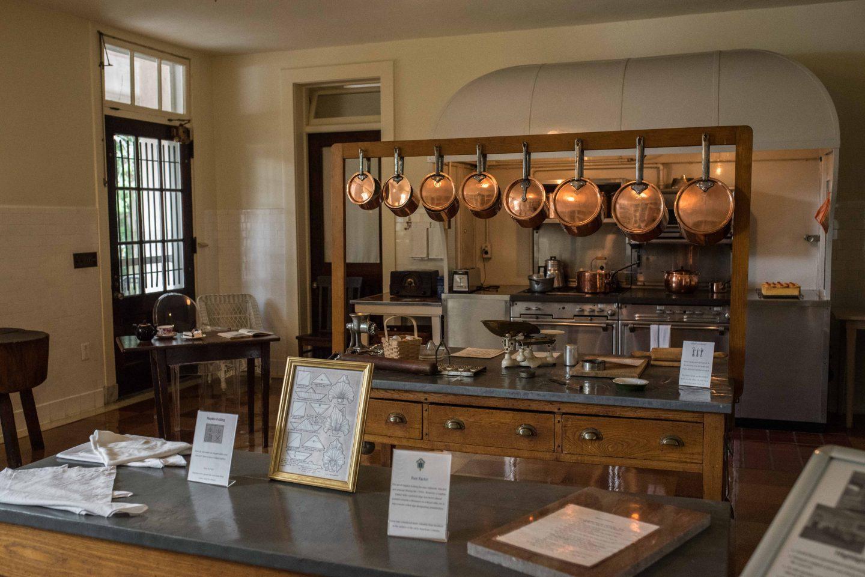 Nemours Estate kitchen