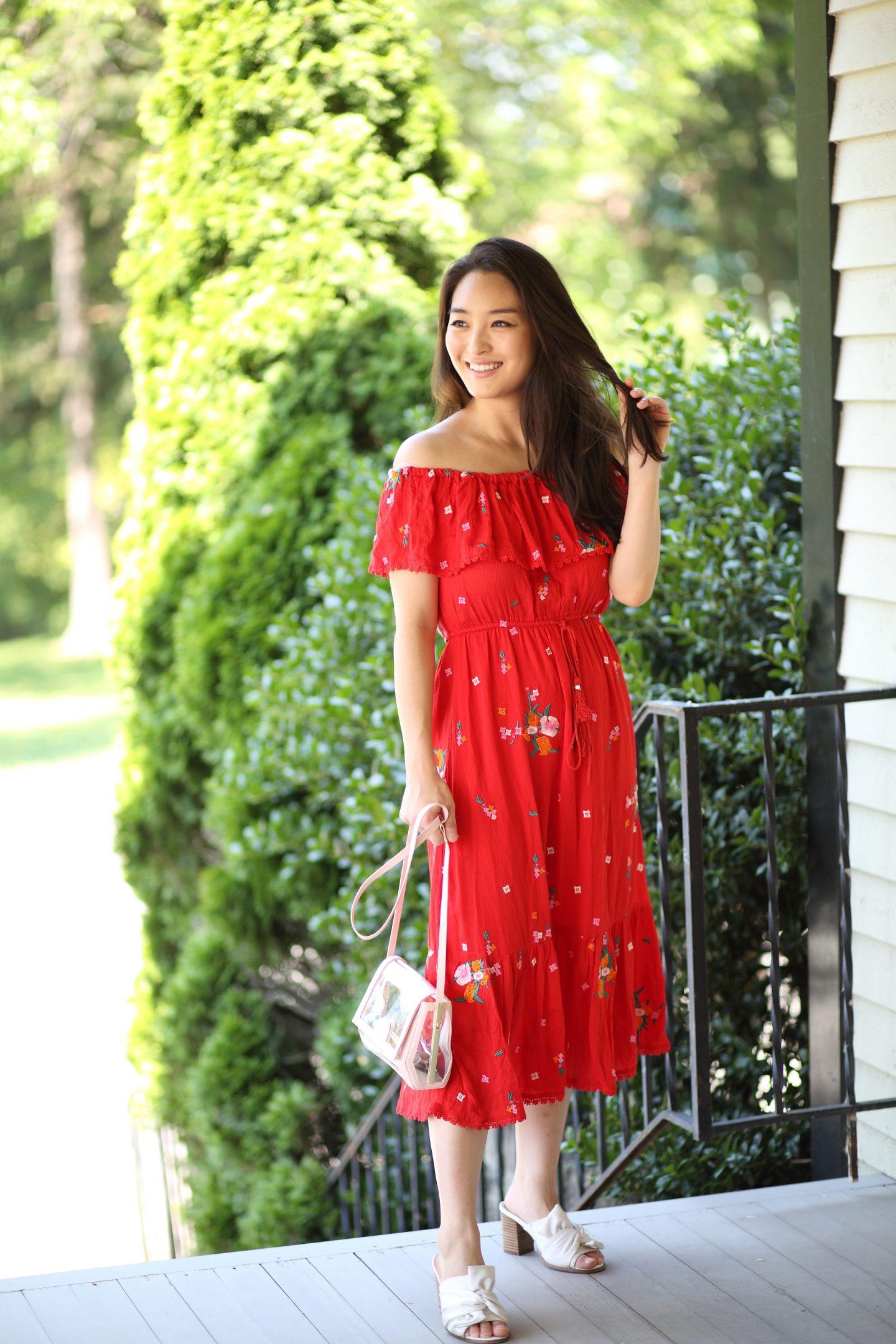 stitchfix red dress