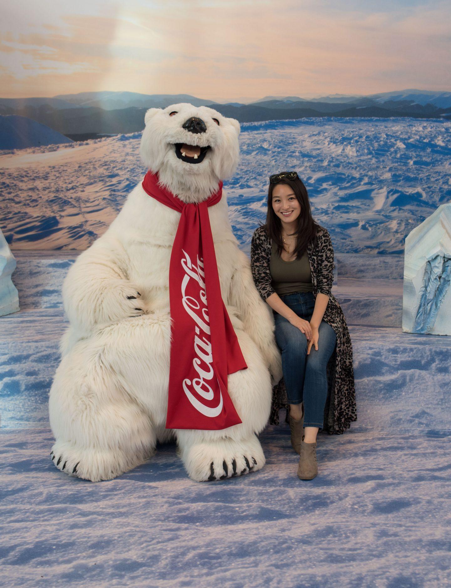 World of Coca Cola polar bear