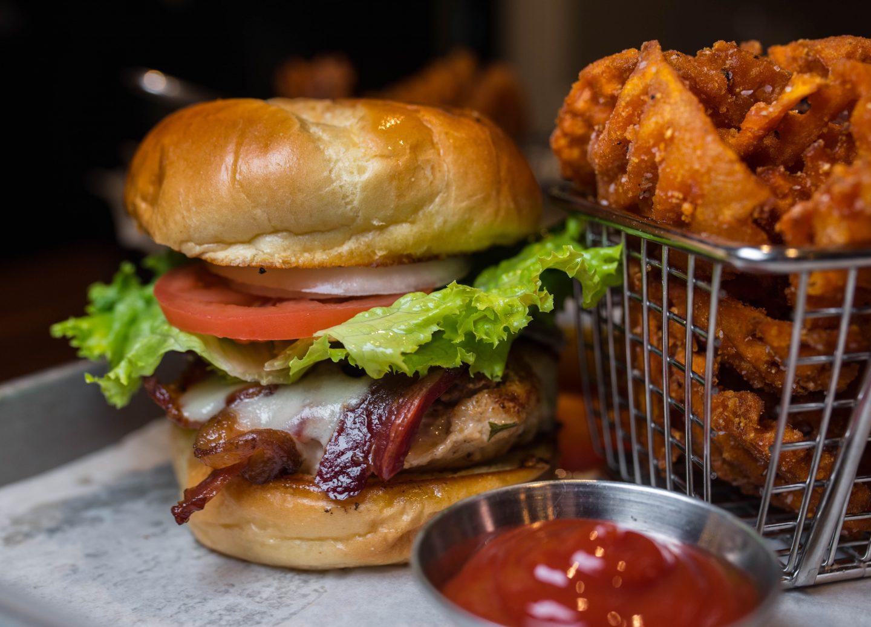 Sarazen's chicken sandwich