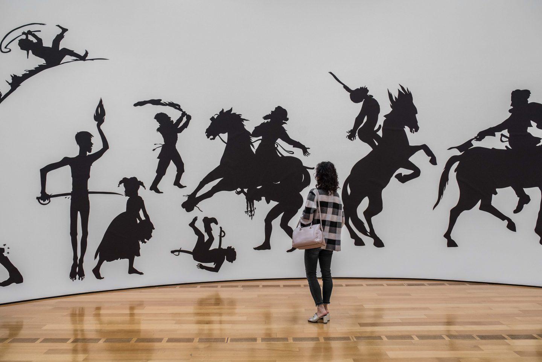 contemporary art mural