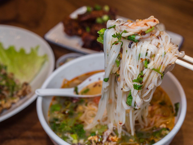 sen khao noodle soup