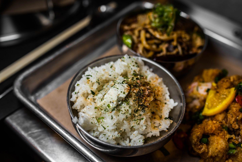 furikake butter rice