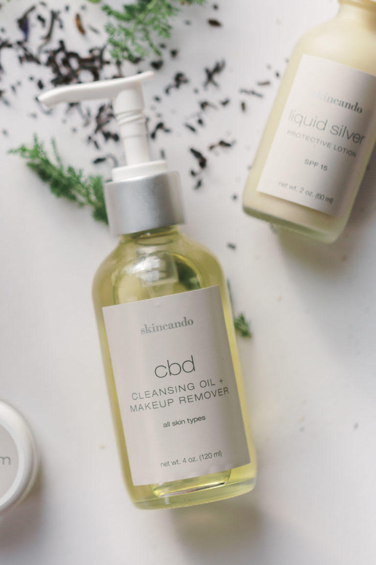 Skincando CBD Cleansing Oil + Makeup Remover