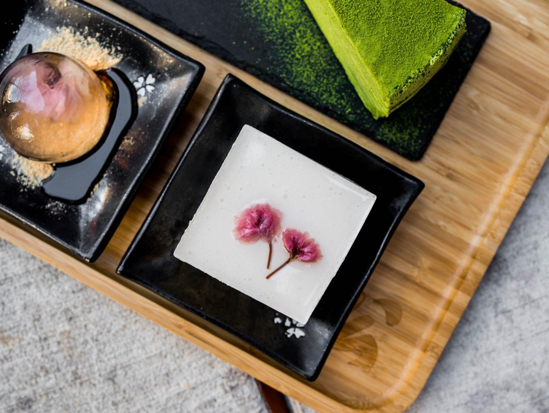 kyoto matcha cheesecake