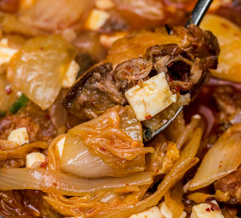 chiko kimchi stew
