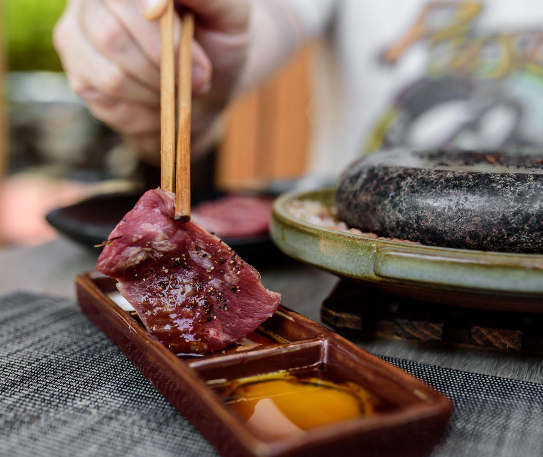 wagyu beef sushi hachi