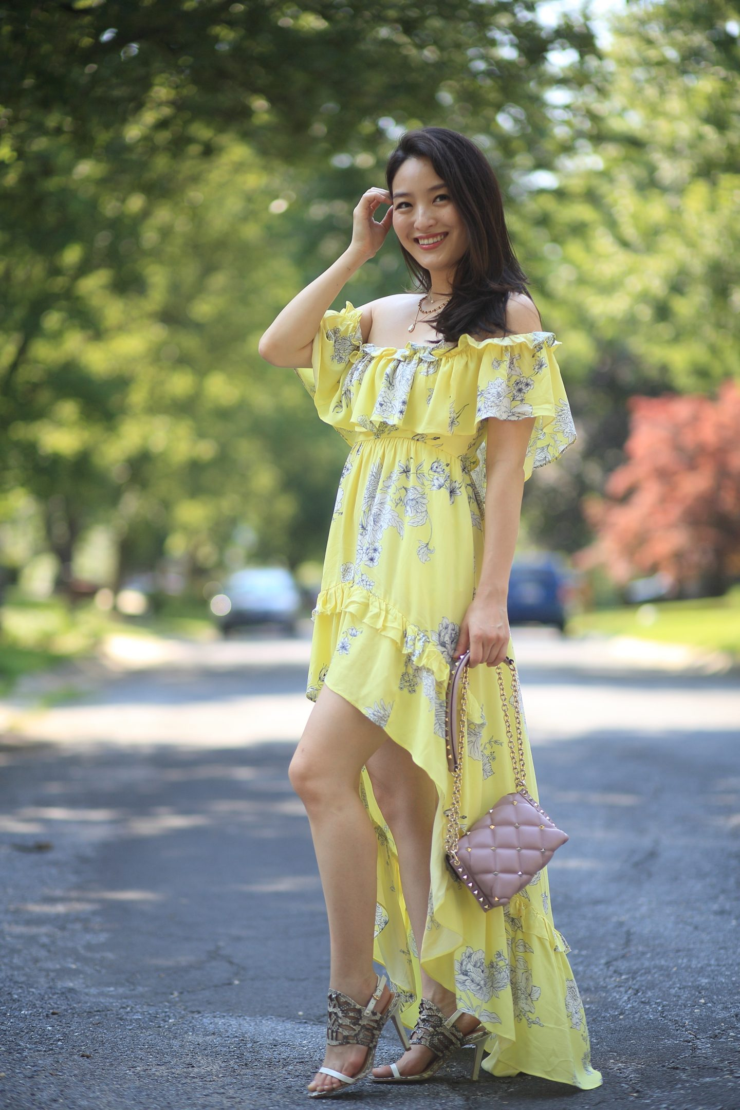 instant romance high low dress