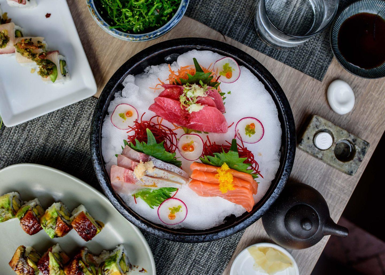 sushi hachi sashimi