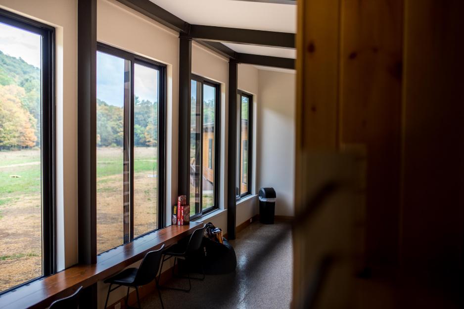 private cabin interior