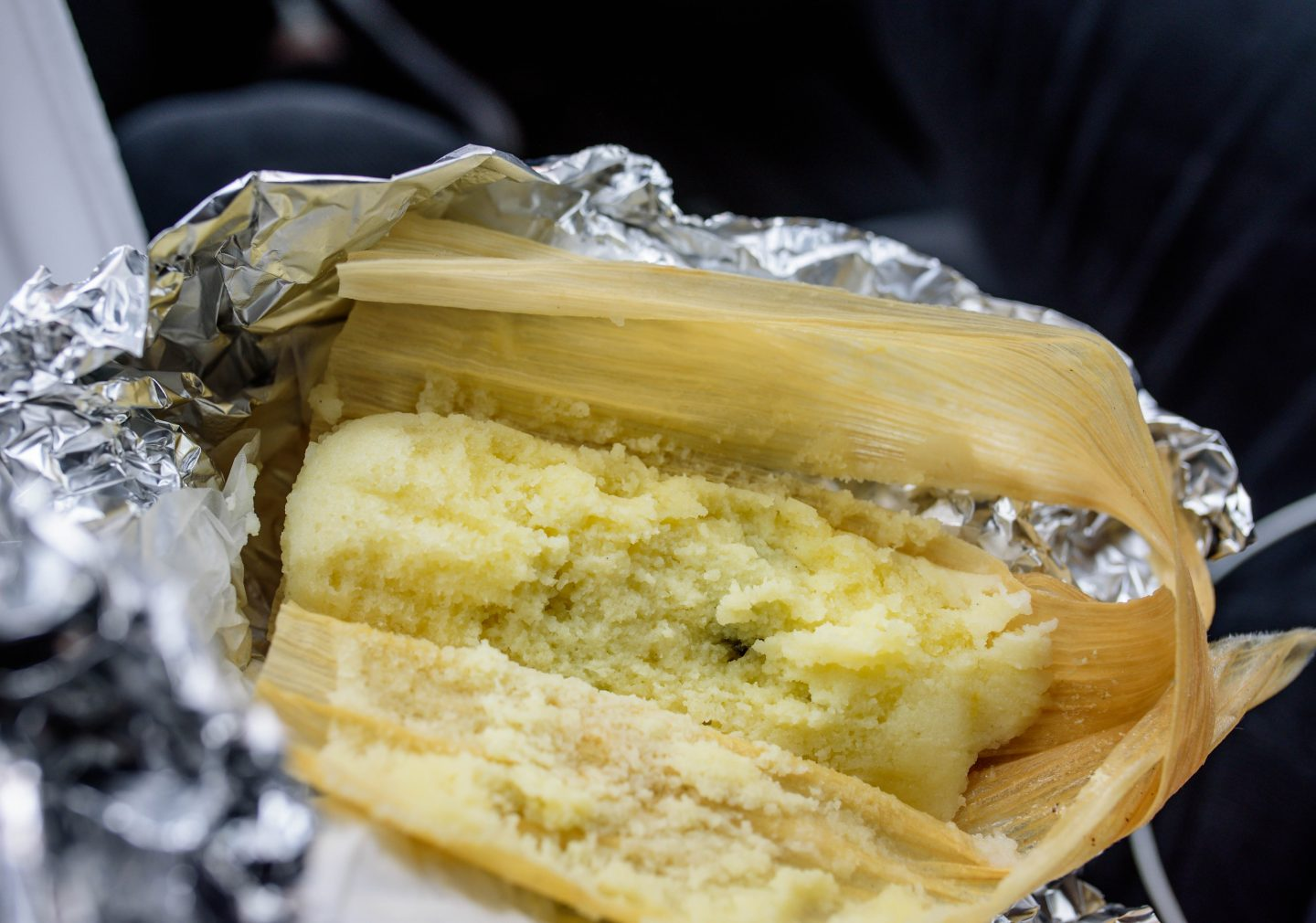 South Philly Barbacoa sweet tamale
