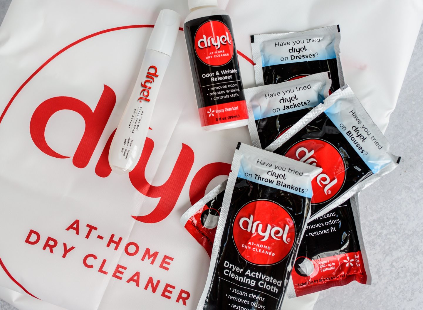 At-Home Dry Cleaning from Dryel