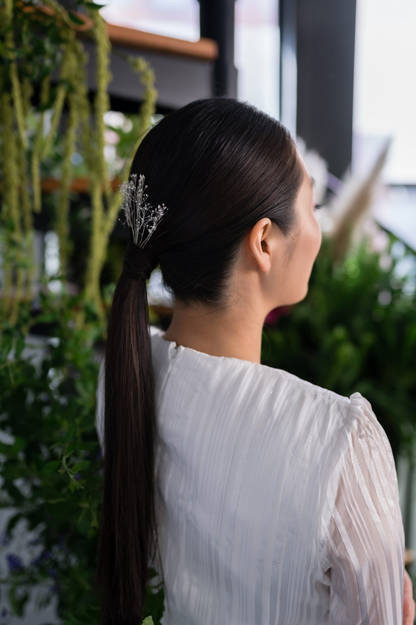 sleep ponytail