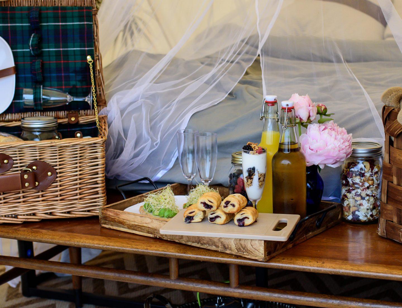 farm to tent breakfast