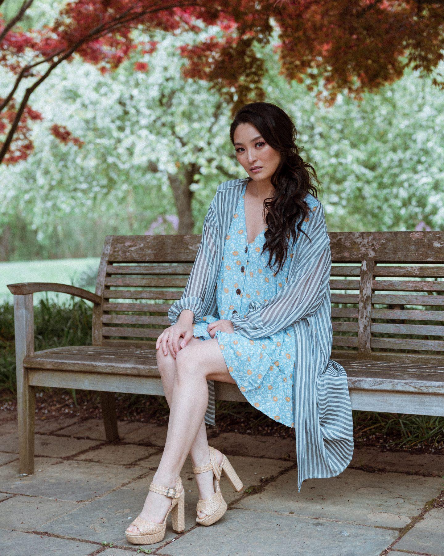 blue dresses for summer